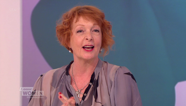 Charlie Hardwick announces Emmerdale exit on ITV's Loose Women- 11 June 2015.