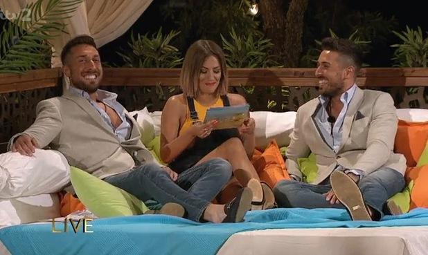 Love Island, John and Tony Alberti 7 June