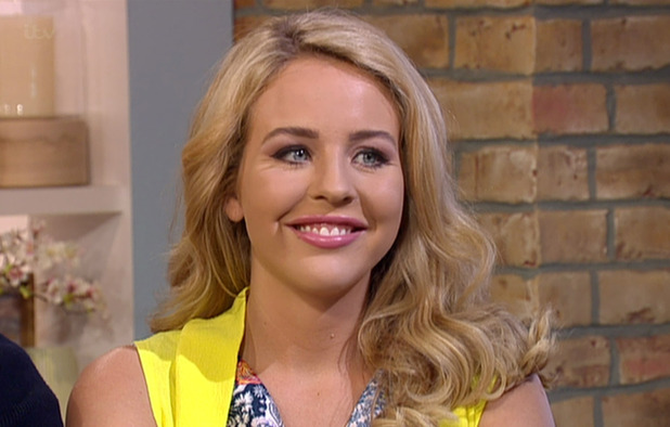 Lydia Bright on ITV's This Morning - 12 June 2015.