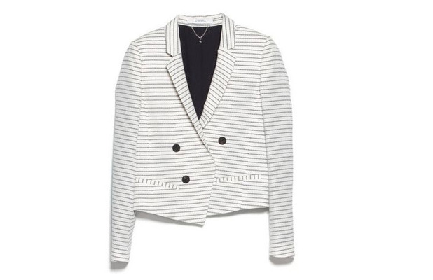 White double breasted blazer from House of Fraser £69.99 11th June 2015