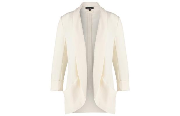 Zalando white blazer £25, 11th June 2015