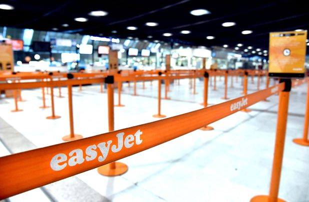 easyJet check-in - Jo Bookleff-Browne was charged £2,200 to check in one suitcase