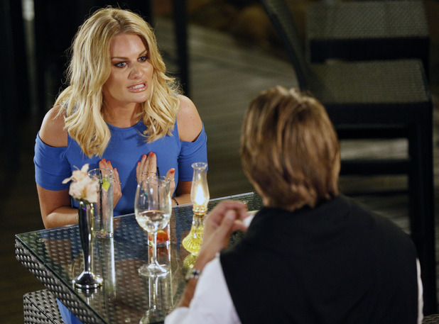 The Only Way Is Essex's Danielle Armstrong and James Lock in Marbella, Spain - 02 Jun 2015