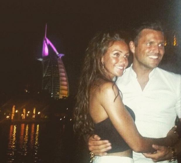 Mark Wright and Michelle Keegan wrap up their honeymoon in Dubai - 8 June 2015.