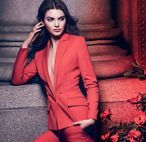 Kendall Jenner shares picture of her Estee Lauder Modern Muse campaign 12th June 2015