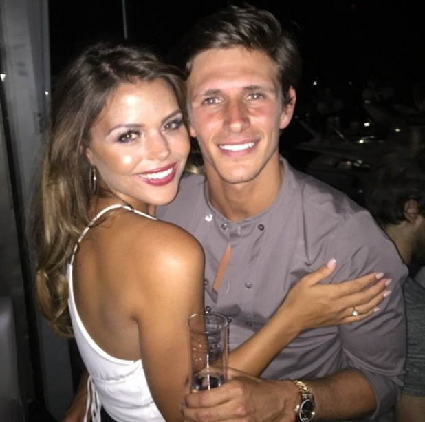 Jake Hall and Chloe Lewis, Marbella 7 June