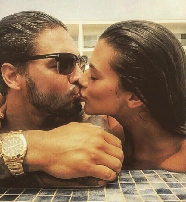Mario Falcone and Emma McVey enjoy holiday in Portugal - 6 June 2015.