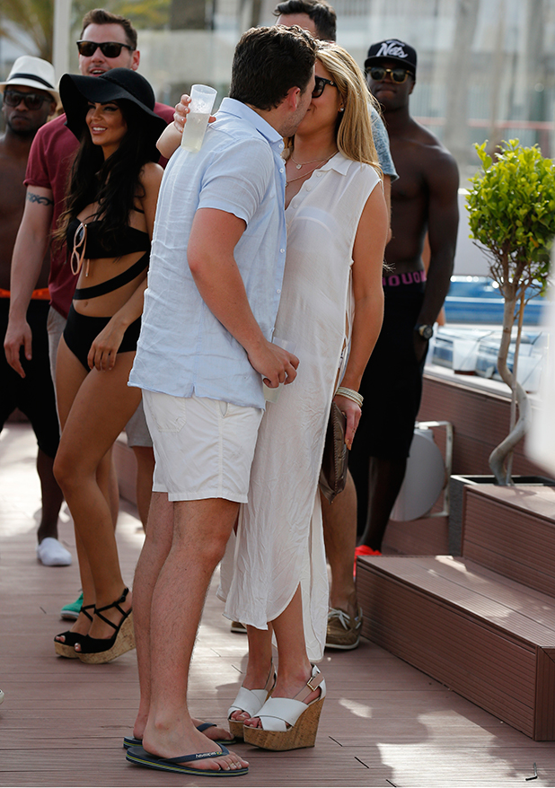 The Only Way Is Essex' in Marbella, Spain - 08 Jun 2015 James Bennewith and Francesca Parman