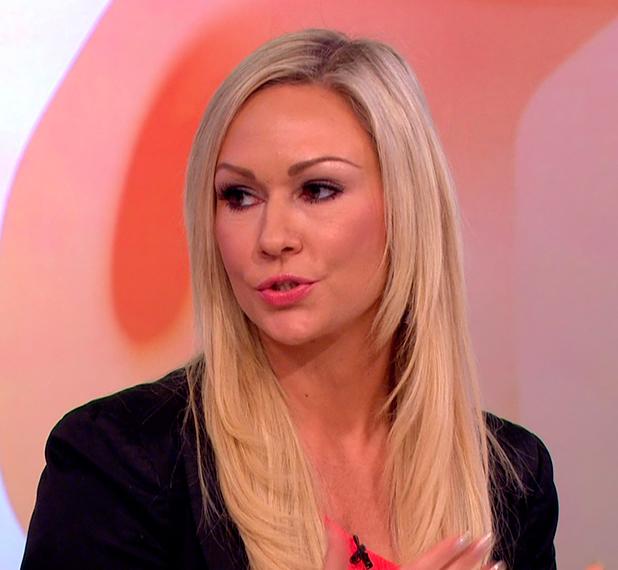 Kristina Rihanoff appears on 'Loose Women' 8 June 2015