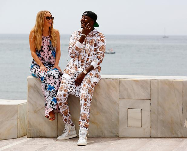 The Only Way Is Essex' in Marbella, Spain - 06 Jun 2015 Lauren Pope and Vas J Morgan