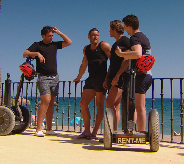 TOWIE episode to air 14 June: James gets advice from the boys