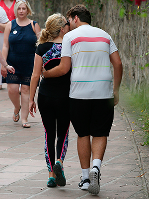 'The Only Way Is Essex' in Marbella, Spain - 06 Jun 2015 James Argent and Lydia Bright leaving a gym