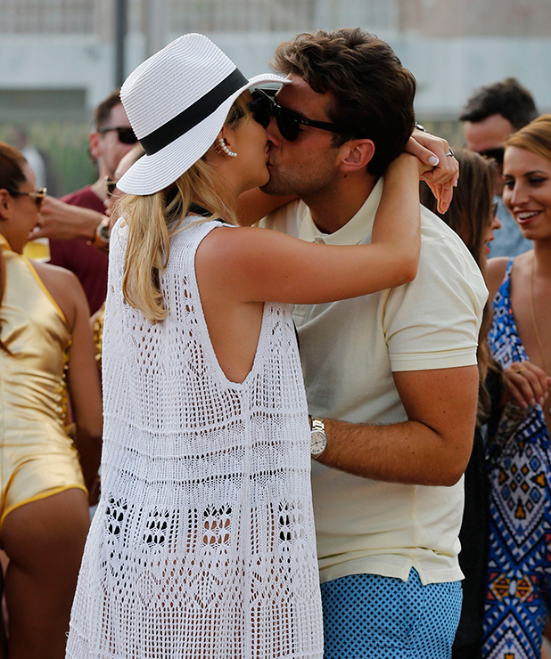 The Only Way Is Essex' in Marbella, Spain - 08 Jun 2015 Lydia Bright and James Argent