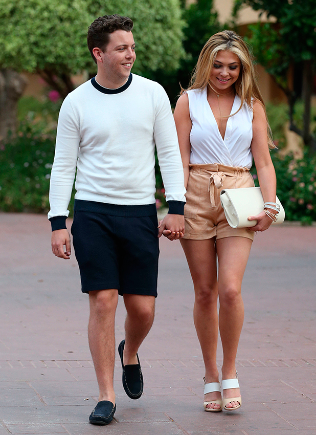 The Only Way Is Essex' in Marbella, Spain - 05 Jun 2015 James Bennewith and Francesca Parman