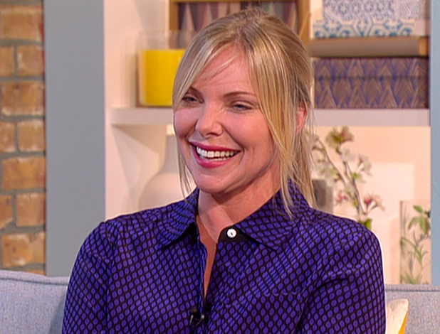 Sam Womack appears on 'This Morning' to talk about her role in 'Kingsman: The Secret Service' and movie's DVD release. Boardcast on ITV1 HD