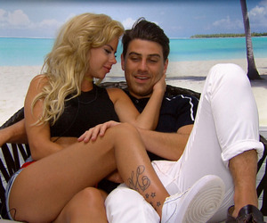 Love Island: Jonathan Clark and Hannah Elizabeth officially become a couple - 16 June 2015.