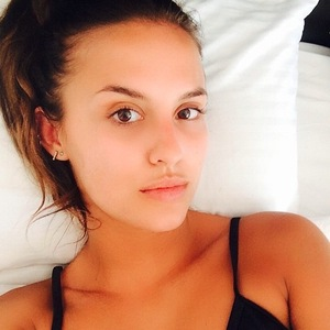 Made In Chelsea's Lucy Watson posts no make-up selfie to Instagram 16th June 2015