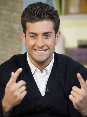 TOWIE's James 'Arg' Argent on This Morning's TV Programme, London, Britain. - 12 Jun 2015.