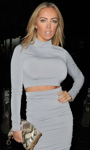 Aisleyne Horgan-Wallace Playtech launch party at Gilgamesh, London 2 March