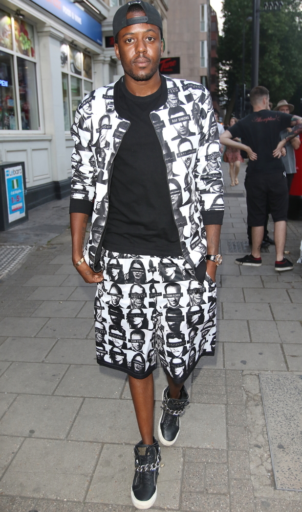 TOWIE's Vas J Morgan at Mikky Ekko holds a listening party in London - 18 June 2015.