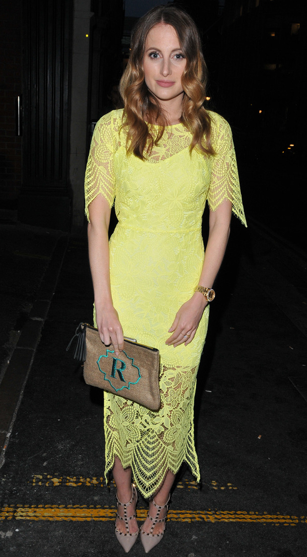 Made In Chelsea's Rosie Fortescue at the London Collections: Men SS16 closing party 16th June 2015