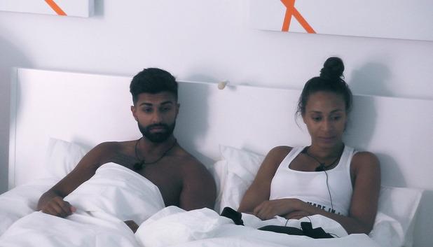 Rachel Christie and Omar, Love Island 7 June