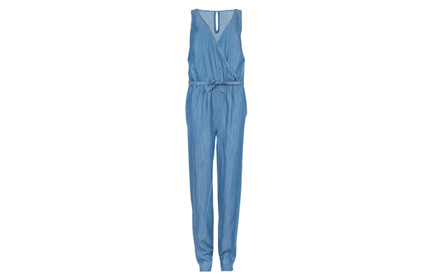 Pinafore style denim jumpsuit Marks and Spencer, M&S £45 19th June 2015