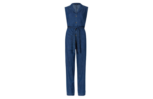 Autograph denim jumpsuit £65, 19th June 2015
