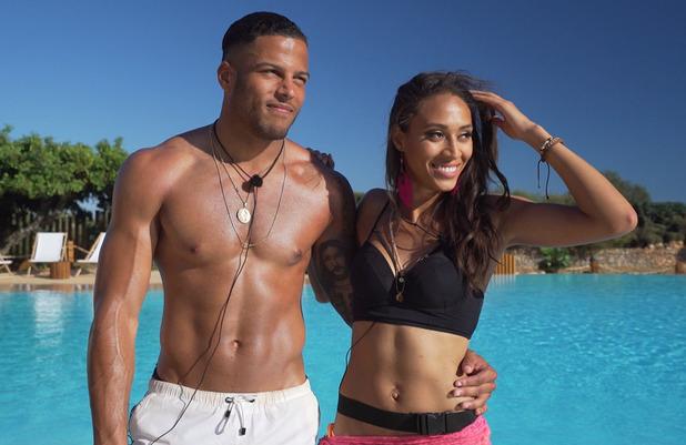 Rachel Christie and Luis, Love Island 7 June