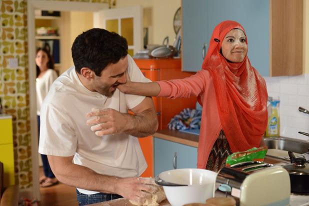 EastEnders, Stacey jealous of Shabnam and Kush, Fri 19 Jun