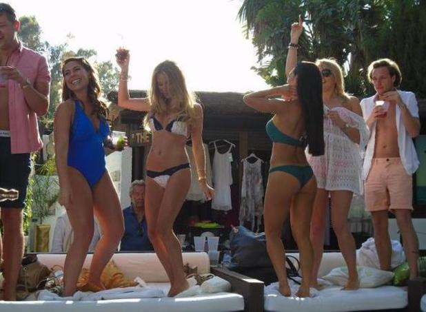 ITVBe's new TOWIE-style reality show Life On Marbs - behind the scenes photos - 18 May 2015.