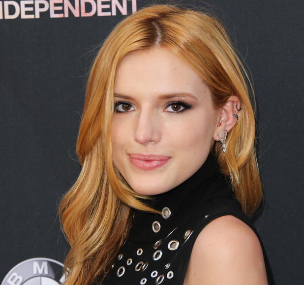 Bella Thorne on the red carpet at the 2015 Los Angeles Film Festival - Premiere Of MTV And Dimension TV's 'Scream', 15th June 2015