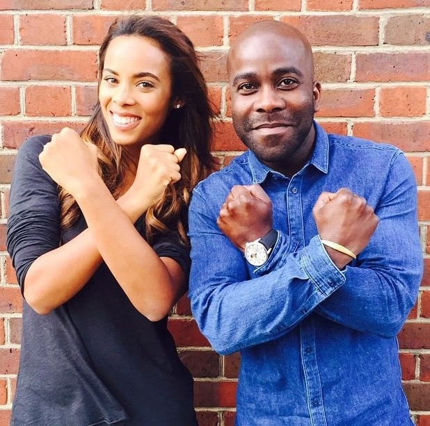 Marvin Humes reveals his wife Rochelle Humes and Kiss FM DJ Melvin Odoom are new hosts of the Xtra Factor, 18th June 2015