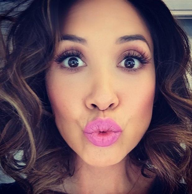 Myleene Klass uploads picture of pastel lips to Instagram 17th June 2015