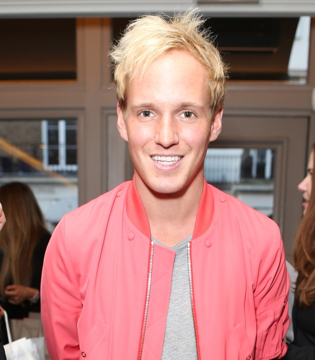 Jamie Laing attends the MediaSkin Gifting Lounge event at Salmontini, Pont Street, London - 19 January 2015.