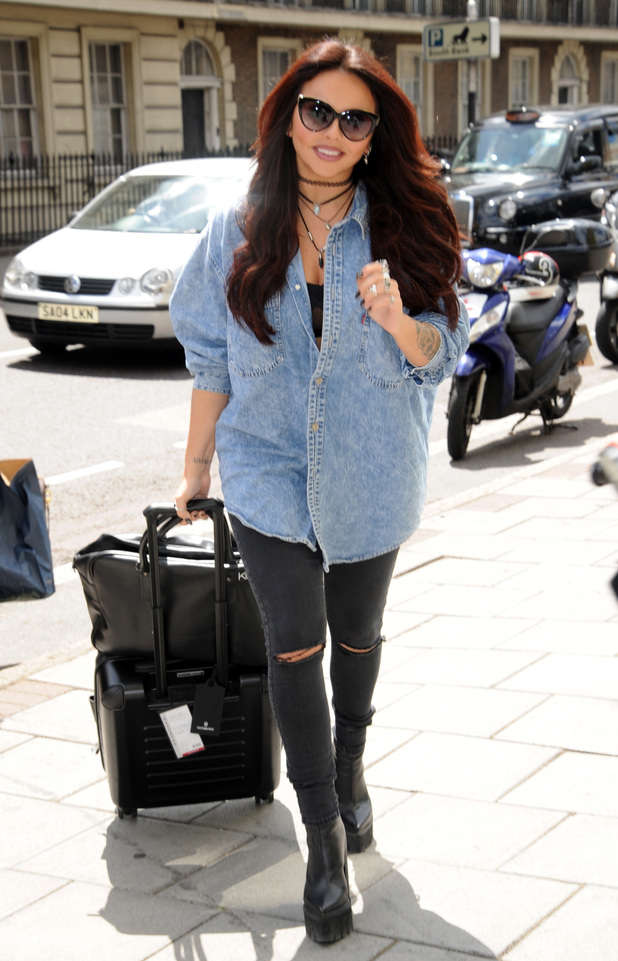 Jesy Nelson out and about in London 15 June