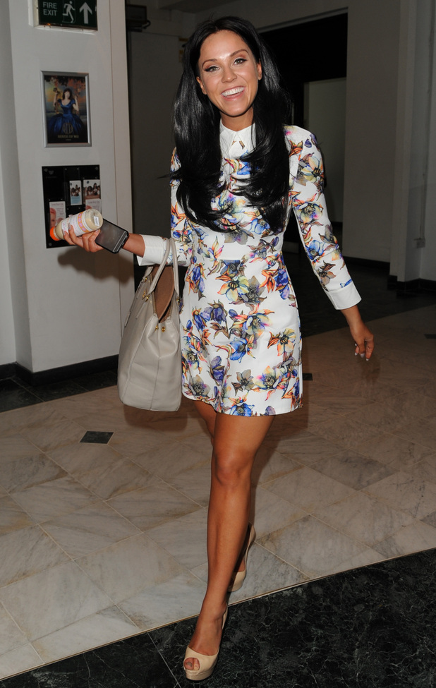 Vicky Pattison appears on The Wright Stuff, London 17 June