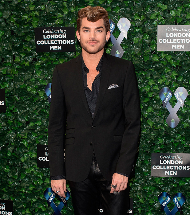Adam Lambert, London Collections: Men S/S 2016 - One For The Boys Fashion Ball held at the Roundhouse - Arrivals