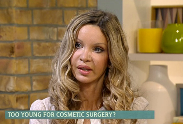 Alicia Douvall discusses surgery on This Morning 16 June 2015