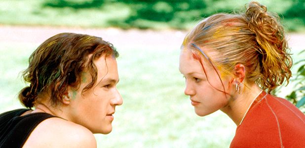 'TEN THINGS I HATE ABOUT YOU' FILM - 1999 Heath Ledger, Julia Stiles