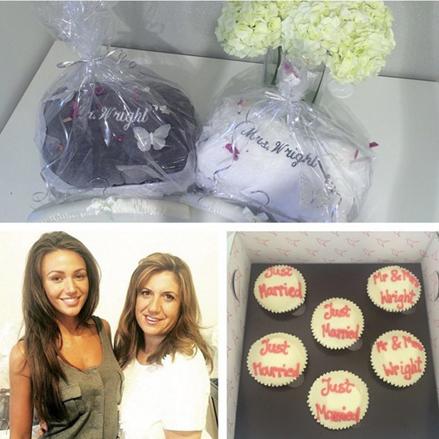 Michelle Keegan gets wedding gifts from Lipsy, June 2015