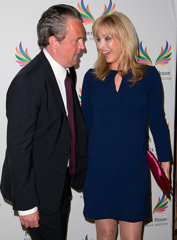 Matthew Perry and Lisa Kudrow attend Phoenix House 12th Annual Triumph for Teens Awards Gala at Montage Beverly Hills.