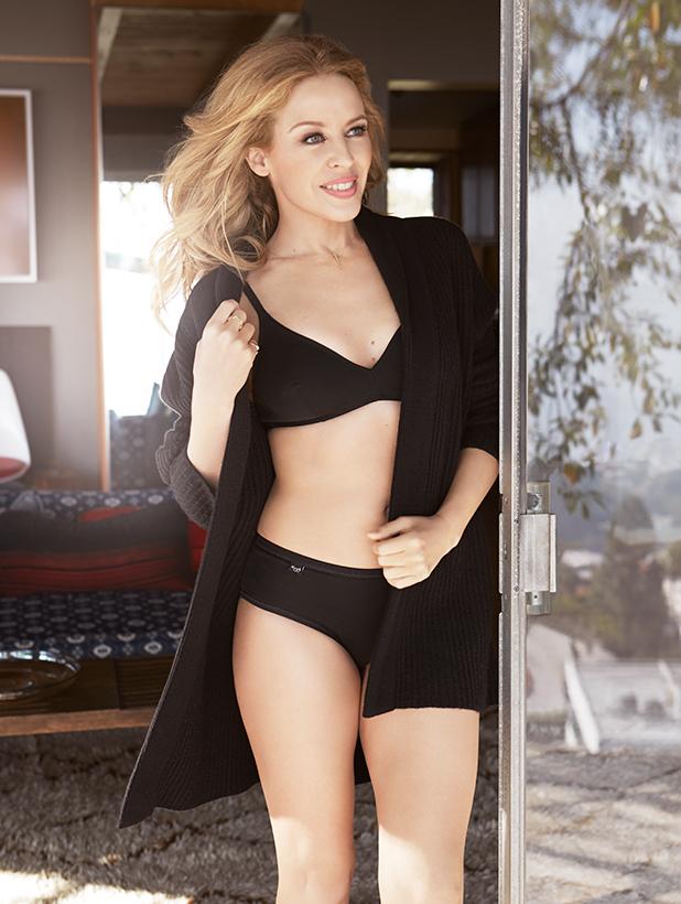 Kylie Minogue is brand ambassador for Sloggi