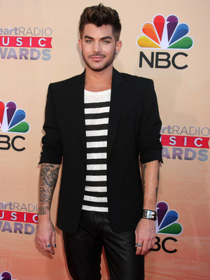 Adam Lambert attends the iHeartRadio Music Awards 2015, 29th March 2015