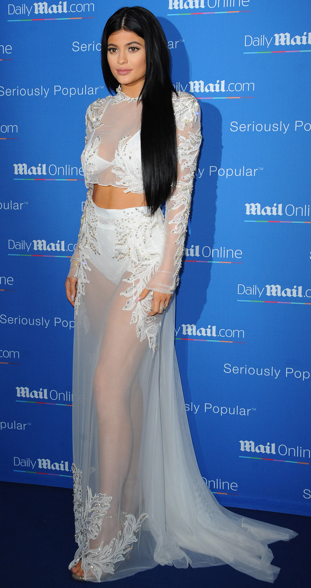 Kylie Jenner at the dailymail.co.uk Seriously Popular Yacht Party in Cannes, 25th June 2015