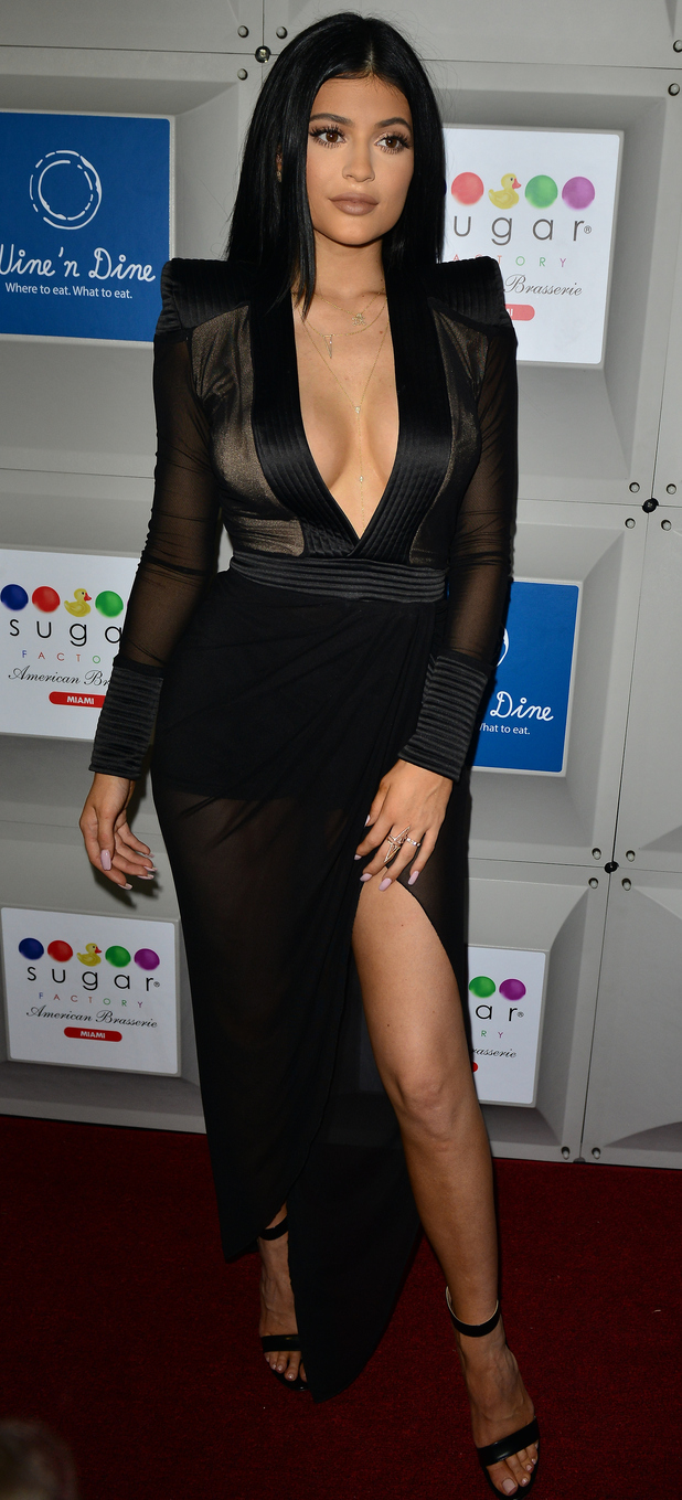 Kylie Jenner at the Sugar Factory opening in California, 22nd June 2015