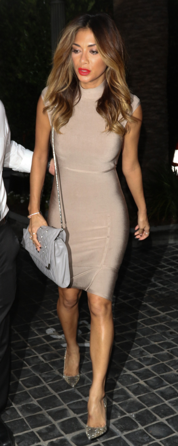 Nicole Scherzinger on a night out with friends in L.A 24th June 2015