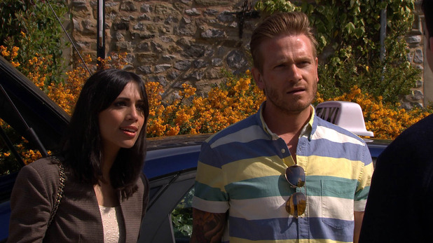Emmerdale, Kirin confronts David and Priya, Wed 24 Jun