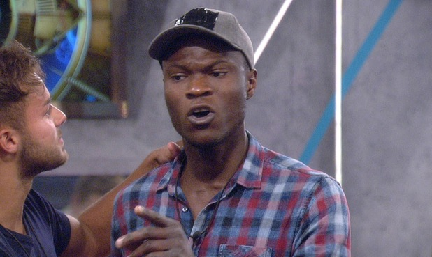 Brian Belo leaves the Big Brother house after argument with Helen Wood - 23 July 2015.