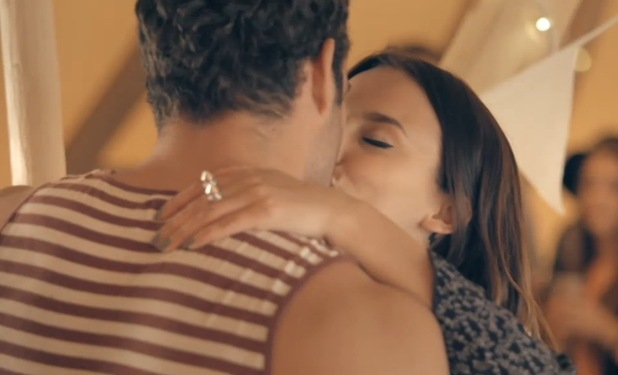 Lucy Watson and James Dunmore kiss, Made In Chelsea series finale 22 June